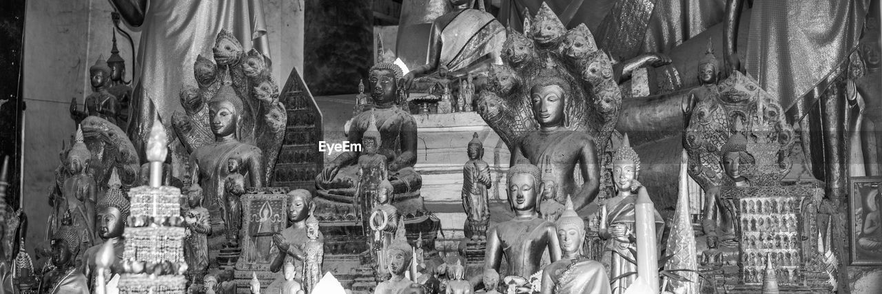 statue, sculpture, human representation, art and craft, no people, religion, spirituality, place of worship, indoors, day, carousel