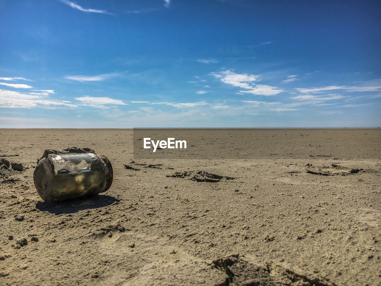 sky, sand, cloud - sky, nature, beach, day, scenics, no people, tranquility, beauty in nature, landscape, outdoors, animal themes
