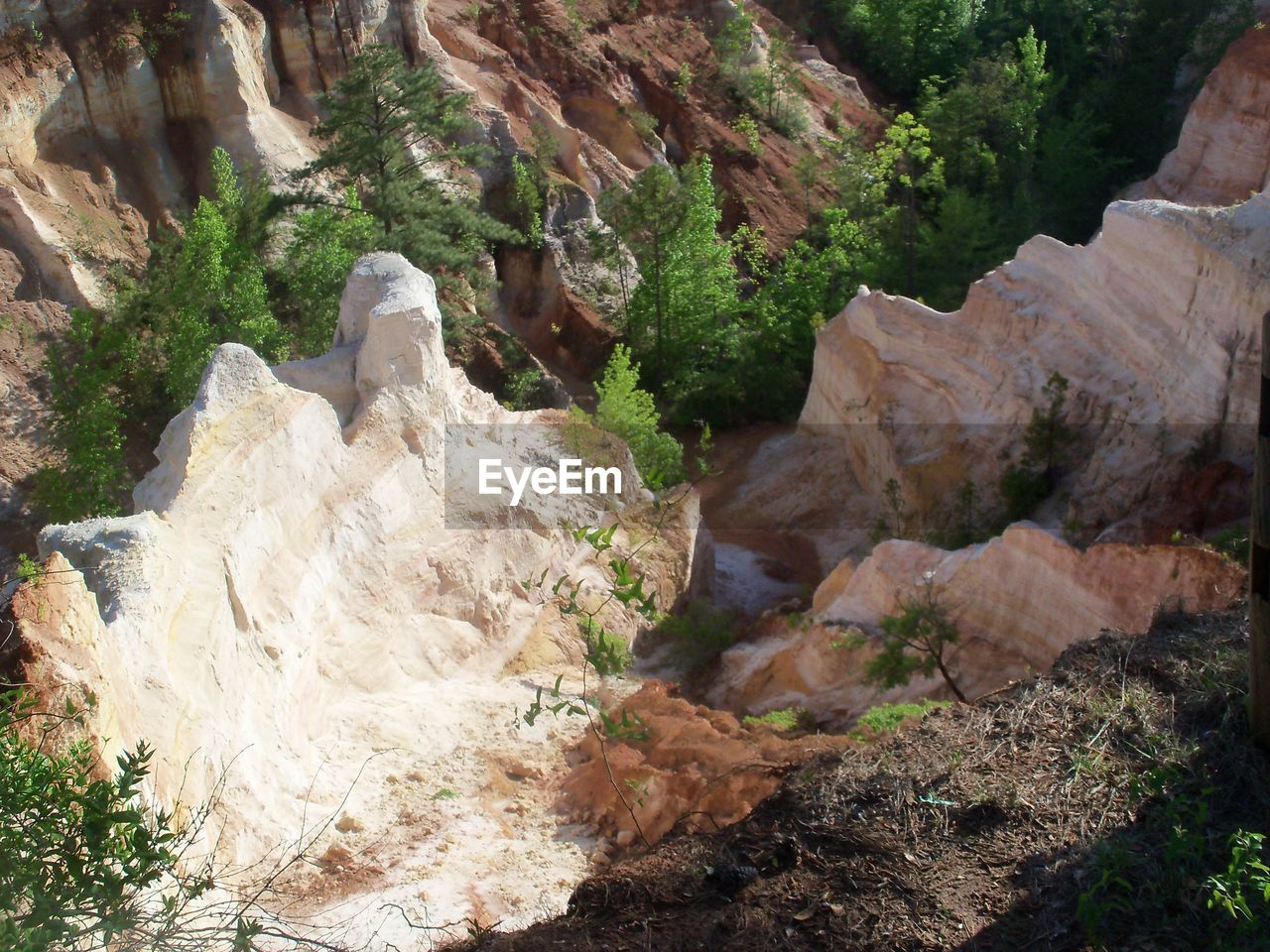rock, solid, rock - object, rock formation, day, nature, plant, beauty in nature, no people, tranquility, tree, scenics - nature, geology, tranquil scene, physical geography, non-urban scene, land, outdoors, water, mountain, flowing water, formation, eroded