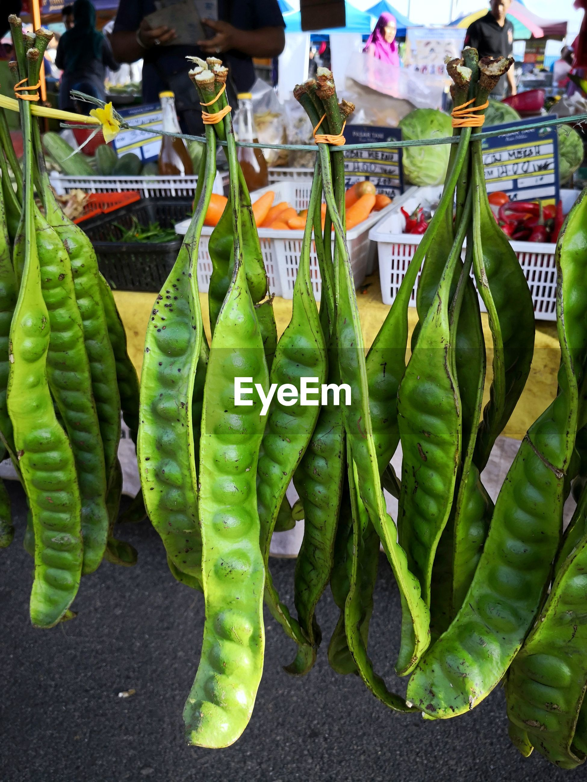 CLOSE-UP OF VEGETABLES FOR SALE