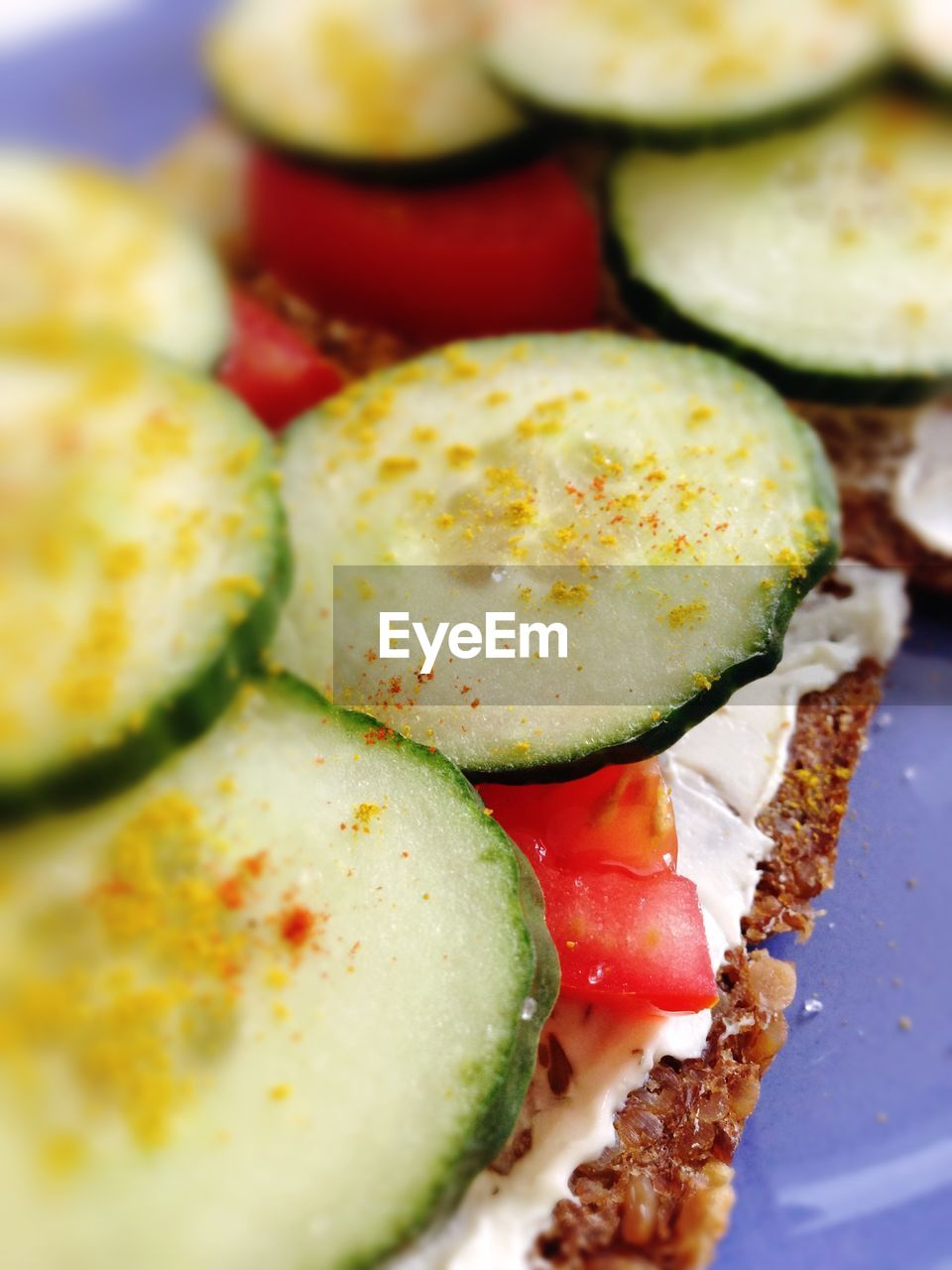 food and drink, food, ready-to-eat, freshness, healthy eating, vegetable, tomato, wellbeing, indoors, plate, still life, fruit, close-up, cucumber, serving size, no people, bread, meal, indulgence, slice, temptation, snack, vegetarian food, breakfast