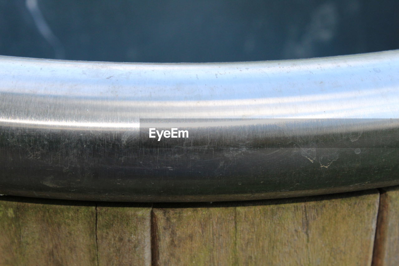 metal, pipe - tube, no people, day, close-up, outdoors