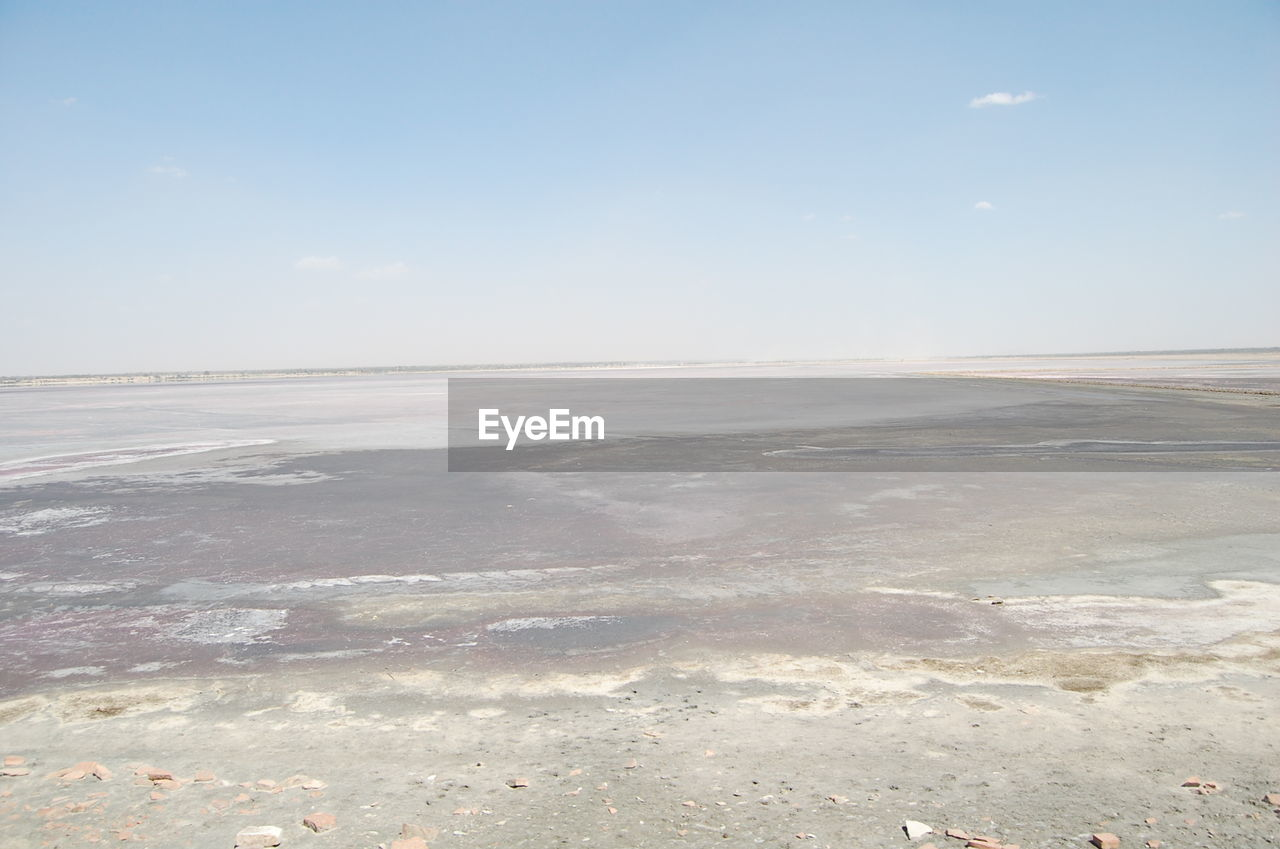 tranquility, tranquil scene, nature, beauty in nature, scenics, outdoors, landscape, sky, day, no people, salt flat, sea, water, salt - mineral, flat, winter, cold temperature, salt basin