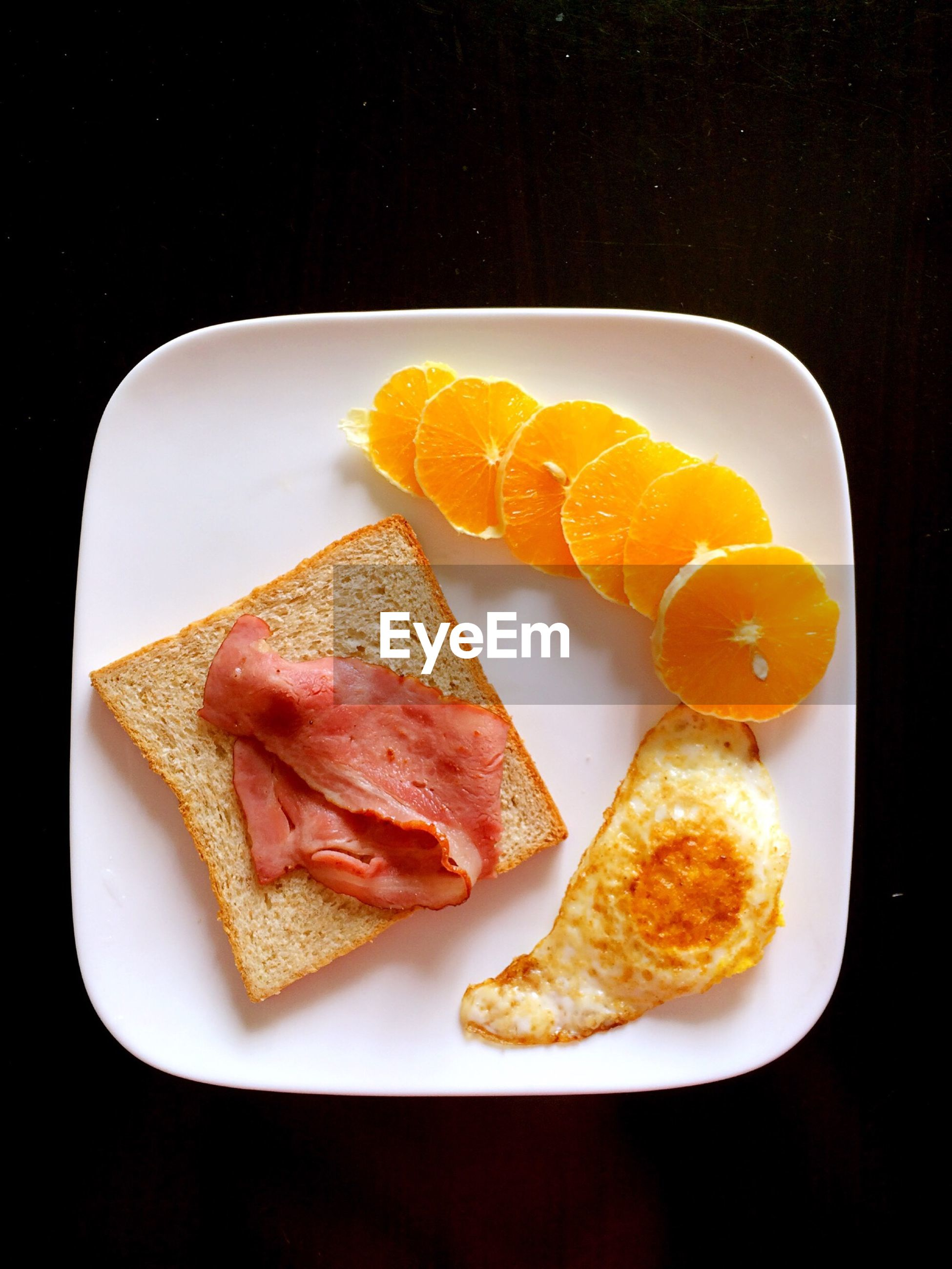 food and drink, food, freshness, ready-to-eat, indoors, plate, still life, healthy eating, indulgence, slice, close-up, meal, serving size, high angle view, breakfast, studio shot, table, temptation, bread