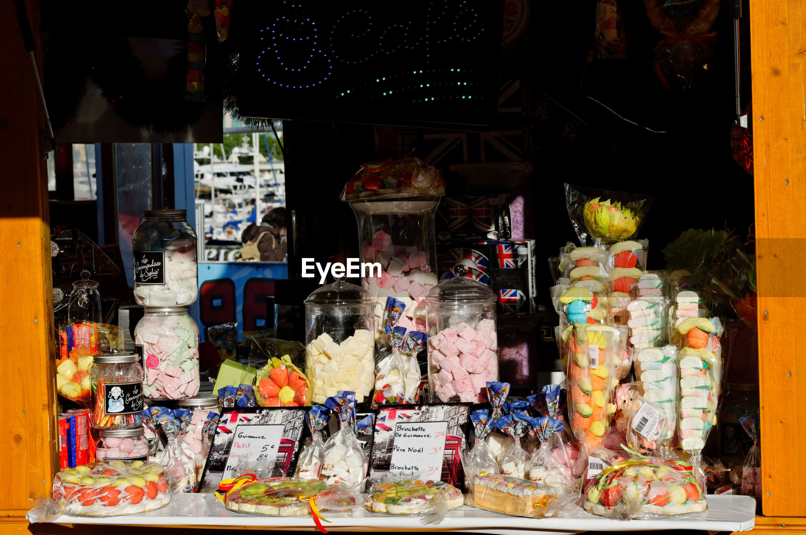 VIEW OF MARKET STALL