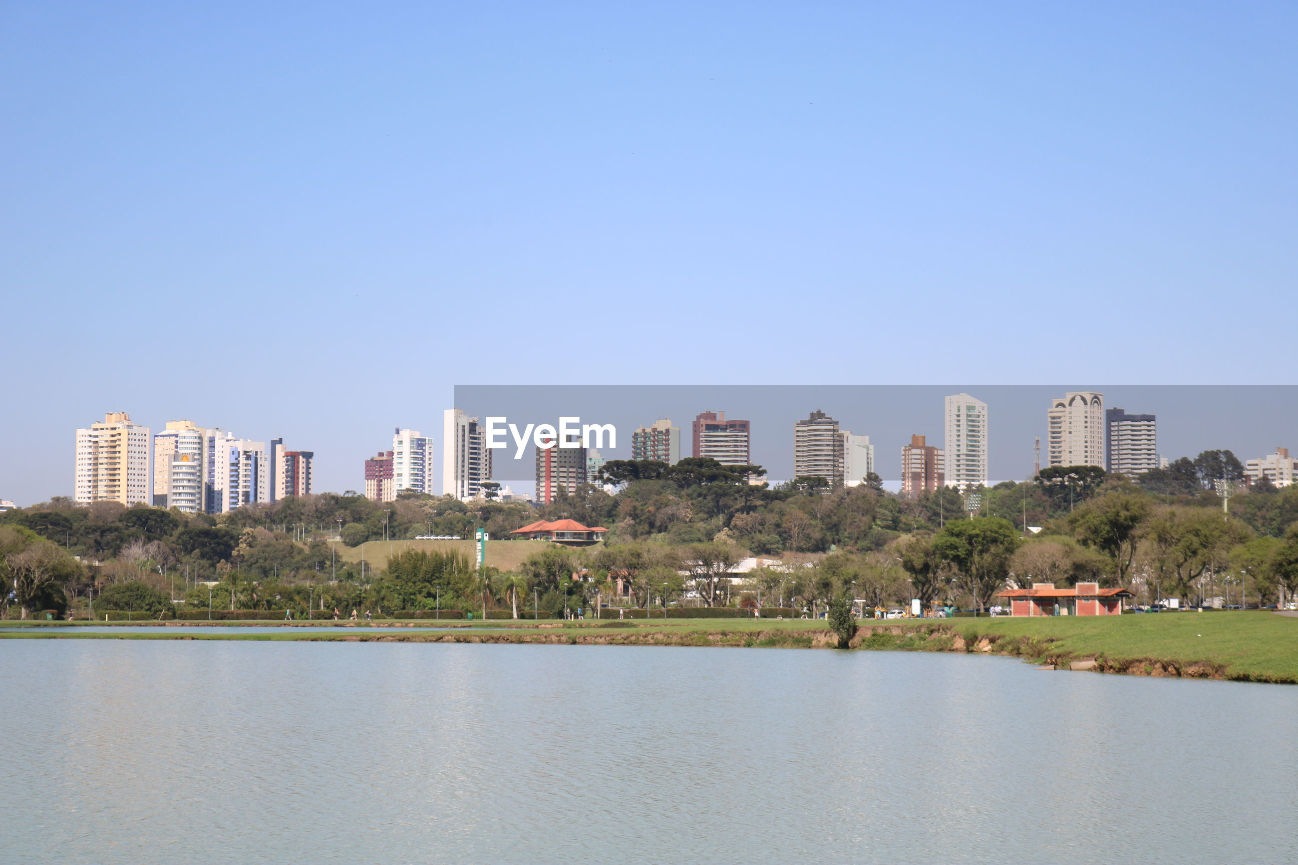 SCENIC VIEW OF BUILDINGS AGAINST CLEAR SKY