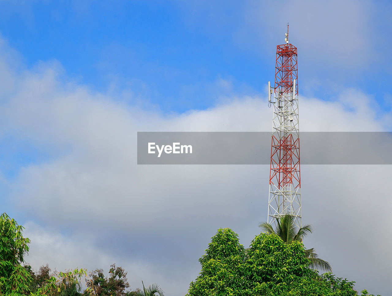 tower, sky, built structure, cloud - sky, technology, tall - high, satellite, architecture, nature, communication, low angle view, satellite dish, no people, broadcasting, telecommunications equipment, tree, day, plant, connection, global communications, outdoors, station