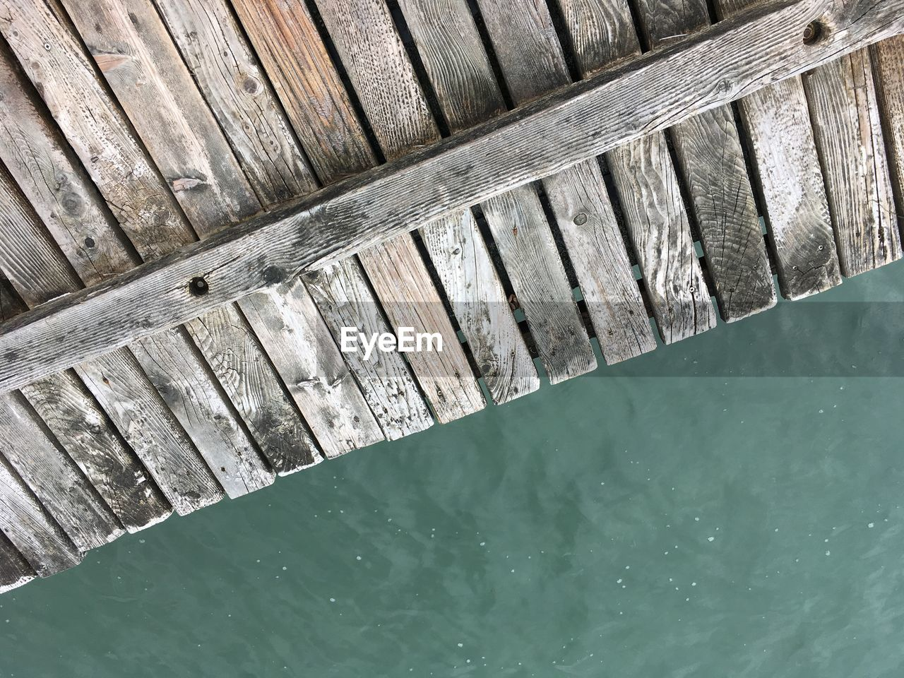 water, wood - material, day, outdoors, high angle view, no people, nature, sea, built structure, architecture