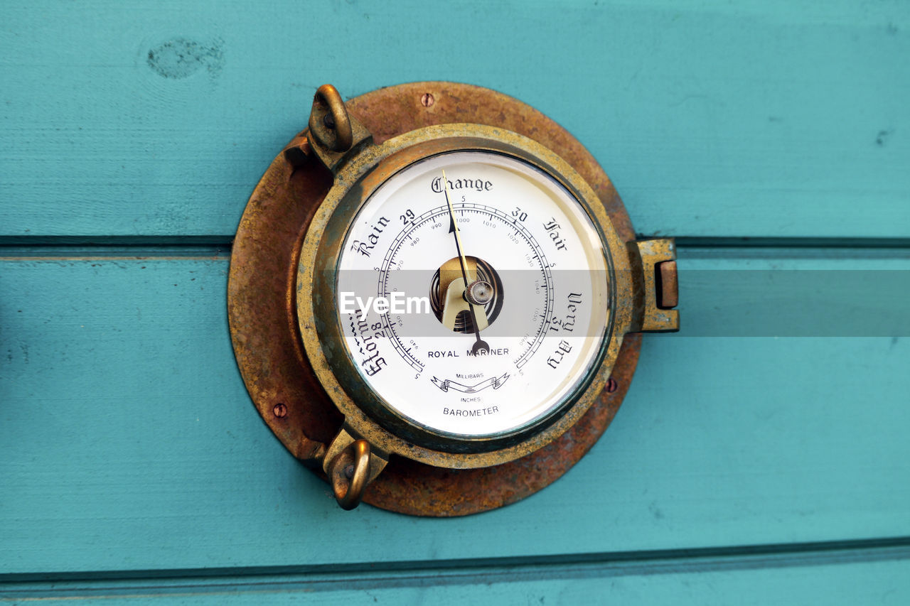 gauge, instrument of measurement, number, no people, close-up, meter - instrument of measurement, metal, geometric shape, still life, shape, circle, equipment, old, rusty, outdoors, text, day, communication, pressure gauge, power supply