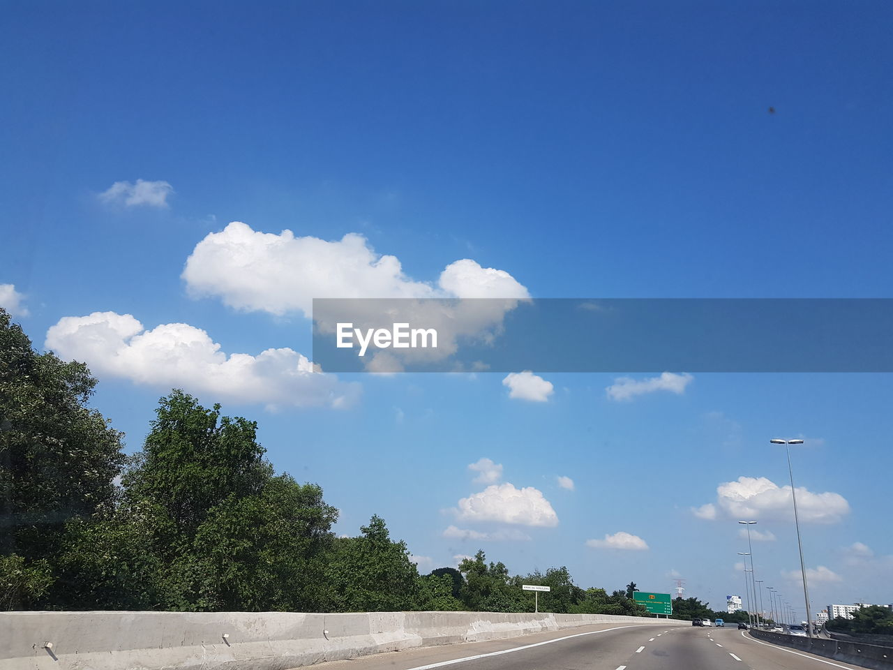 sky, tree, cloud - sky, outdoors, road, day, blue, transportation, no people, scenics, nature, beauty in nature