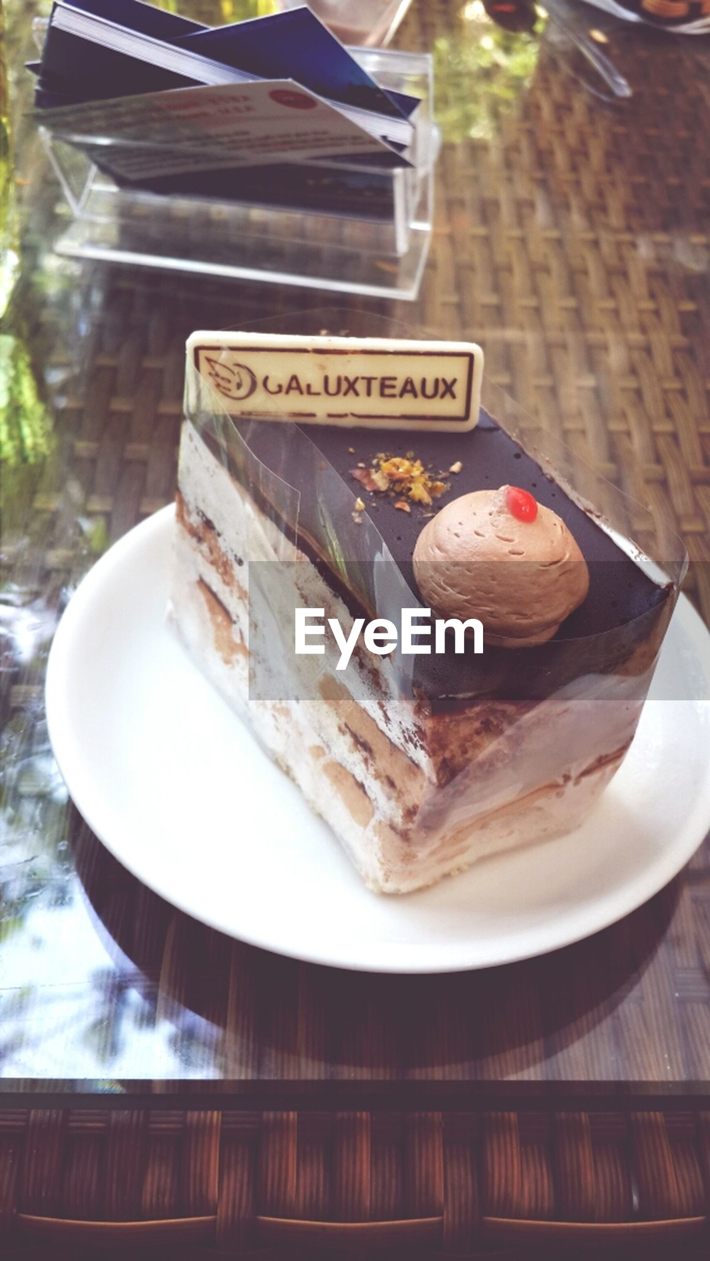 food and drink, food, freshness, ready-to-eat, plate, indoors, indulgence, still life, table, close-up, serving size, unhealthy eating, meal, meat, temptation, sweet food, dessert, high angle view, no people
