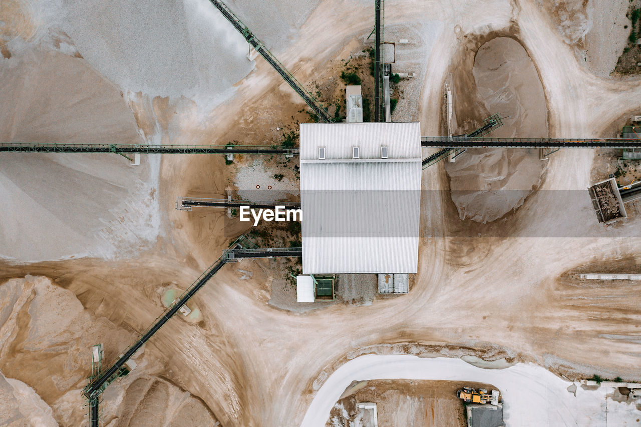Aerial view of mine