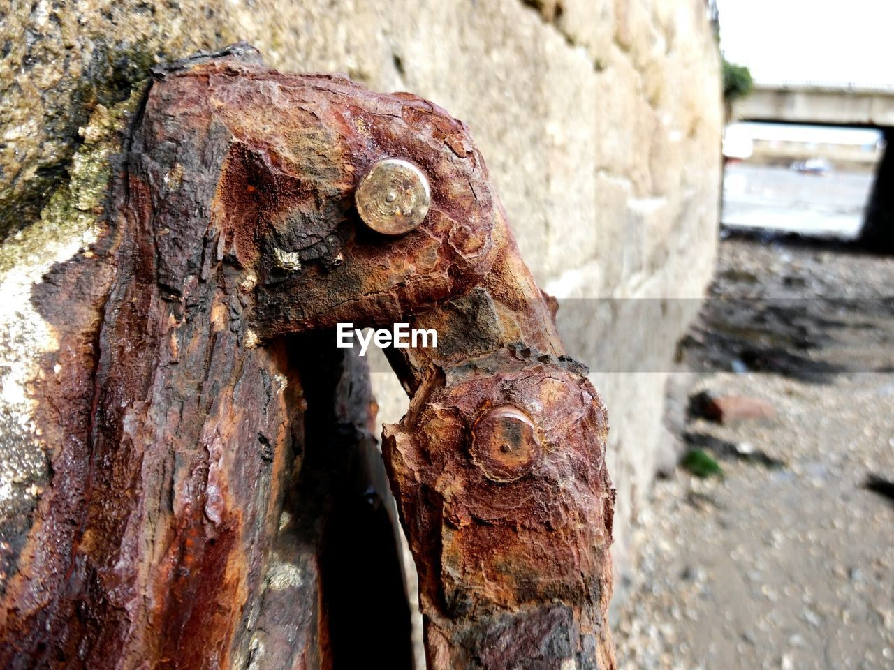weathered, day, textured, outdoors, damaged, close-up, no people, rusty, focus on foreground