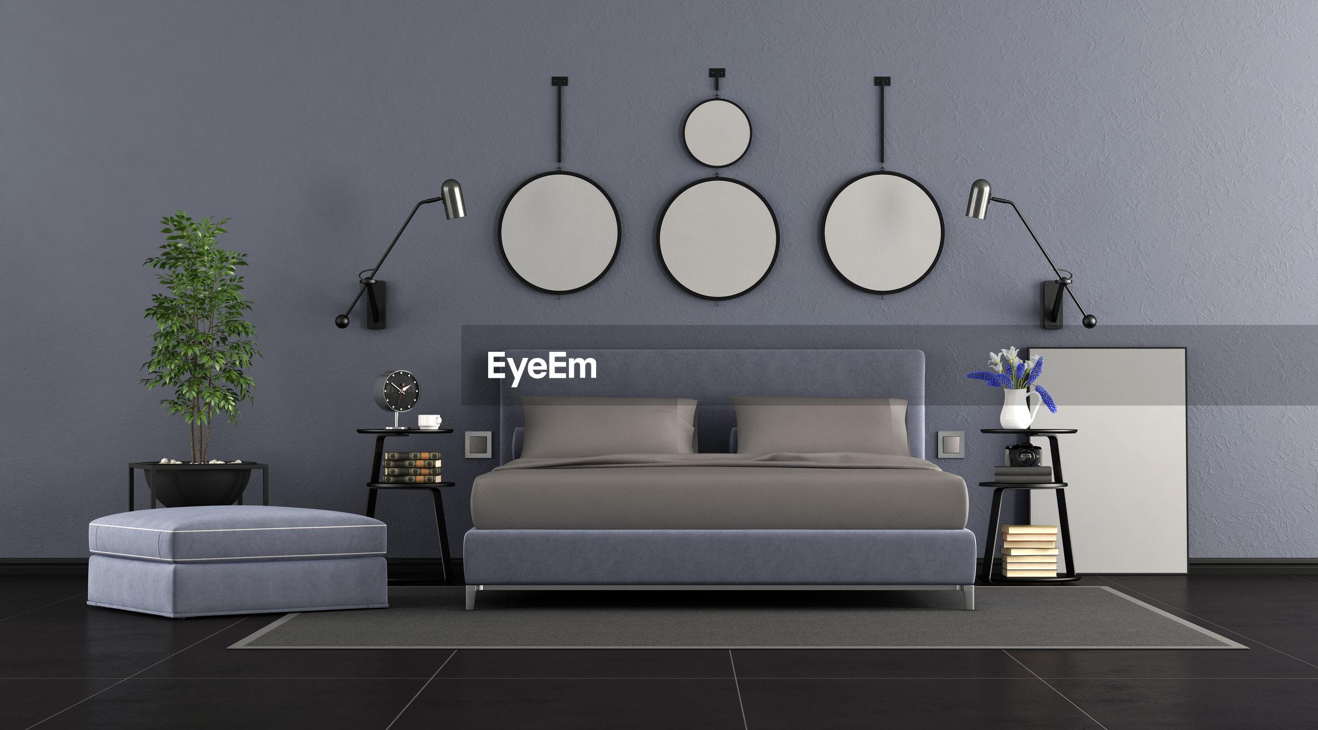 Interior of bedroom