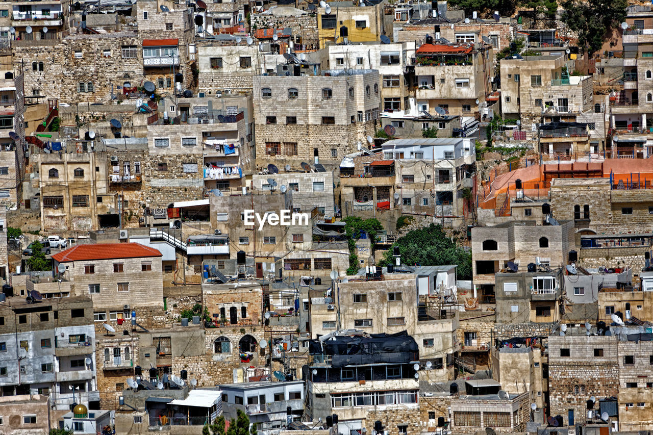 Full Frame Shot Of Buildings In Old Town