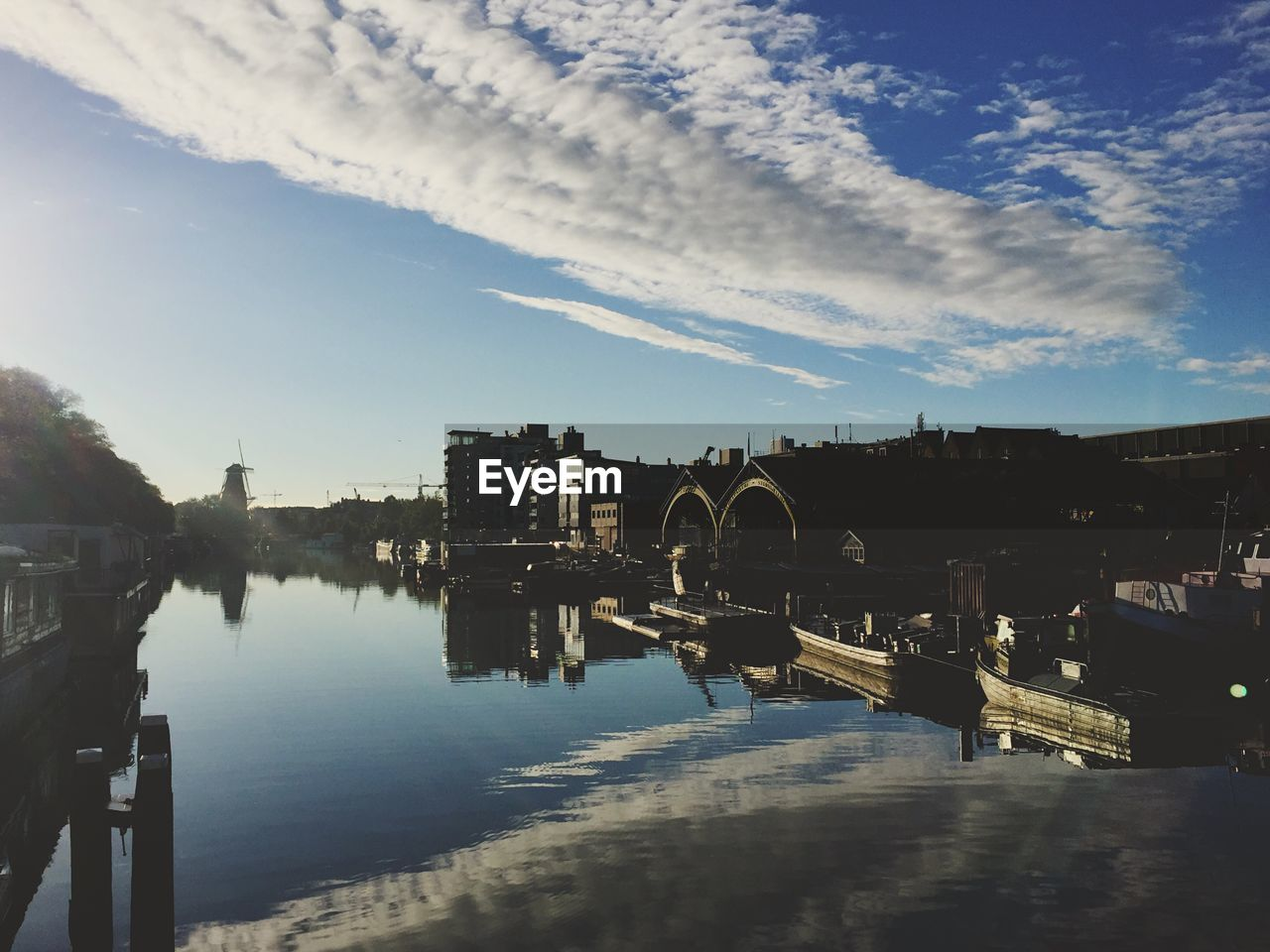 water, architecture, sky, bridge - man made structure, built structure, river, connection, reflection, cloud - sky, outdoors, no people, day, nature, building exterior, city