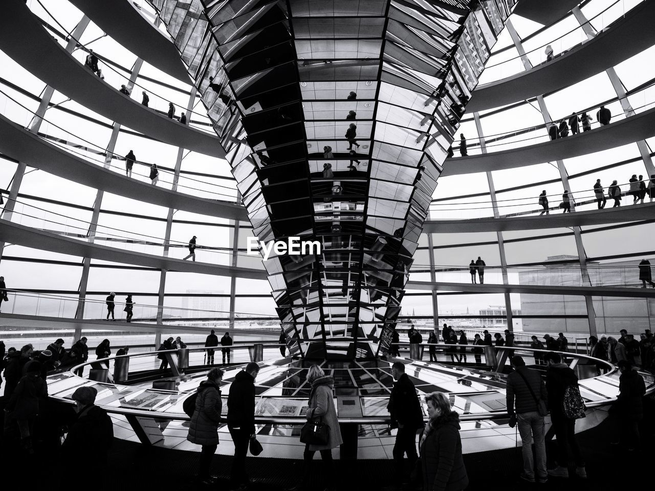 large group of people, real people, indoors, travel, men, women, day, travel destinations, transportation, built structure, lifestyles, architecture, sky, people, adult