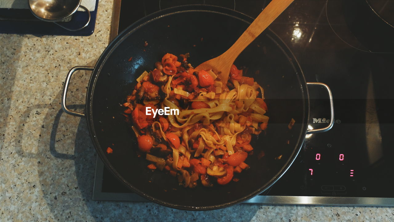 food and drink, food, indoors, domestic kitchen, preparation, no people, freshness, kitchen, preparing food, stove, healthy eating, close-up, ready-to-eat, day