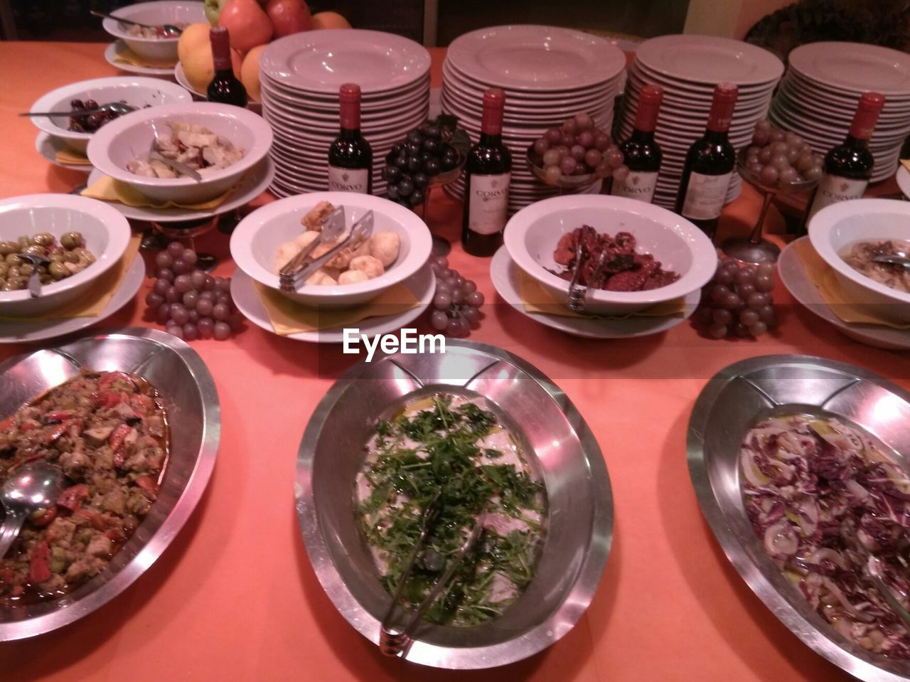 table, variation, high angle view, choice, plate, indoors, food and drink, food, bowl, no people, ready-to-eat, freshness, close-up, day
