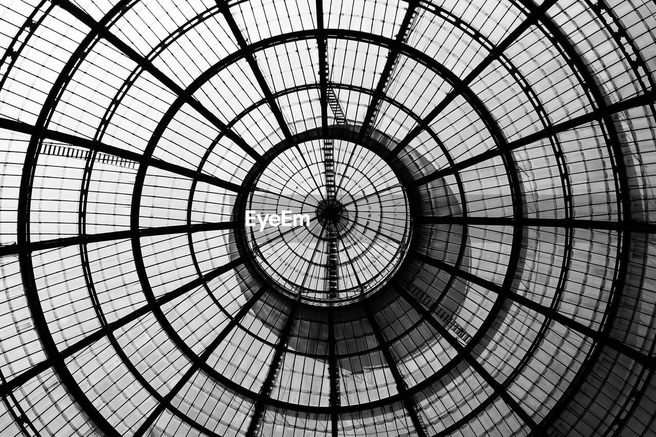 built structure, architecture, full frame, architectural feature, pattern, backgrounds, indoors, dome, low angle view, modern, cupola, no people, travel destinations, city, day, concentric, sky
