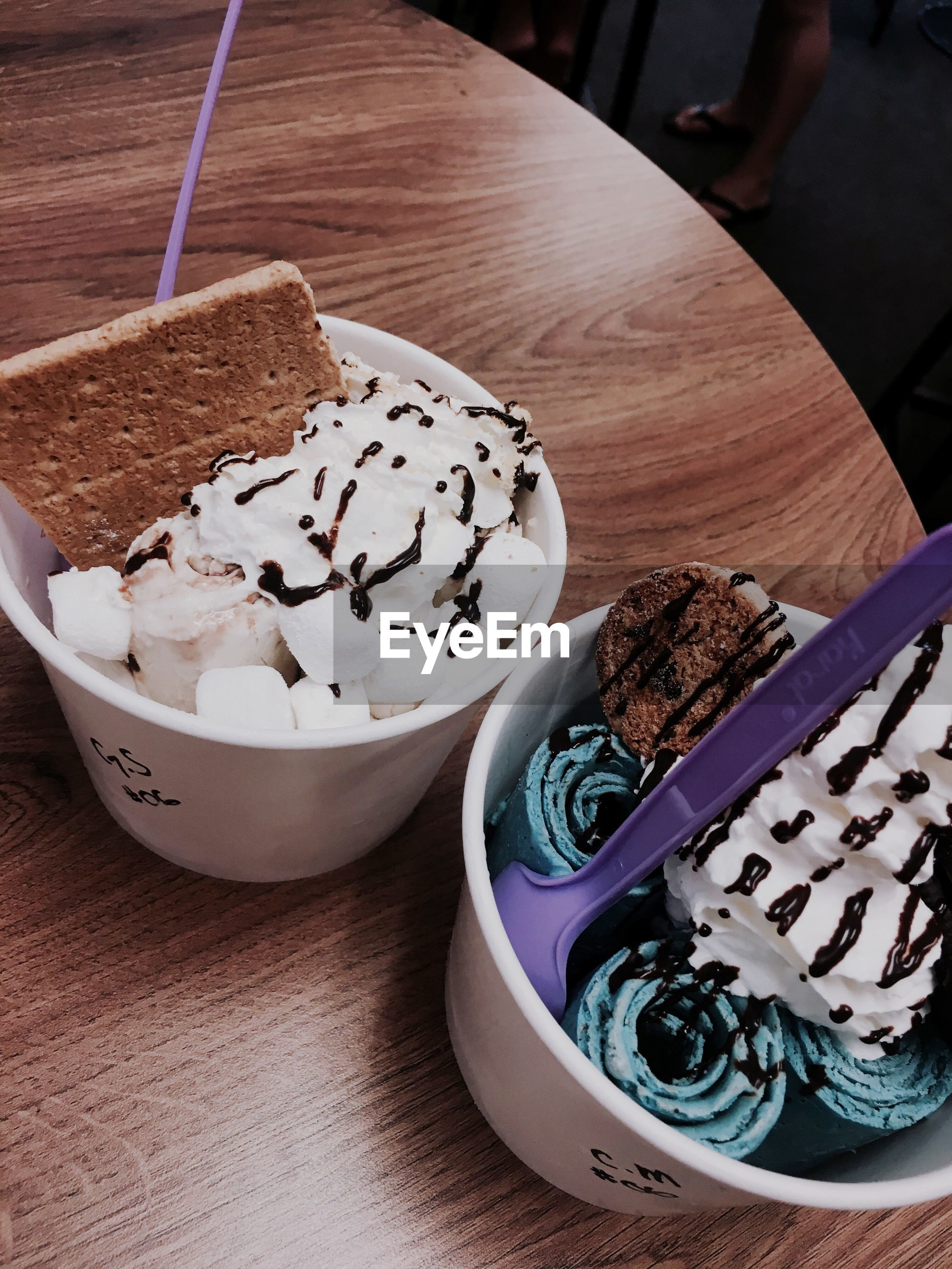 food and drink, food, indulgence, table, sweet food, unhealthy eating, freshness, serving size, temptation, ready-to-eat, dessert, indoors, plate, close-up, no people, cupcake, day
