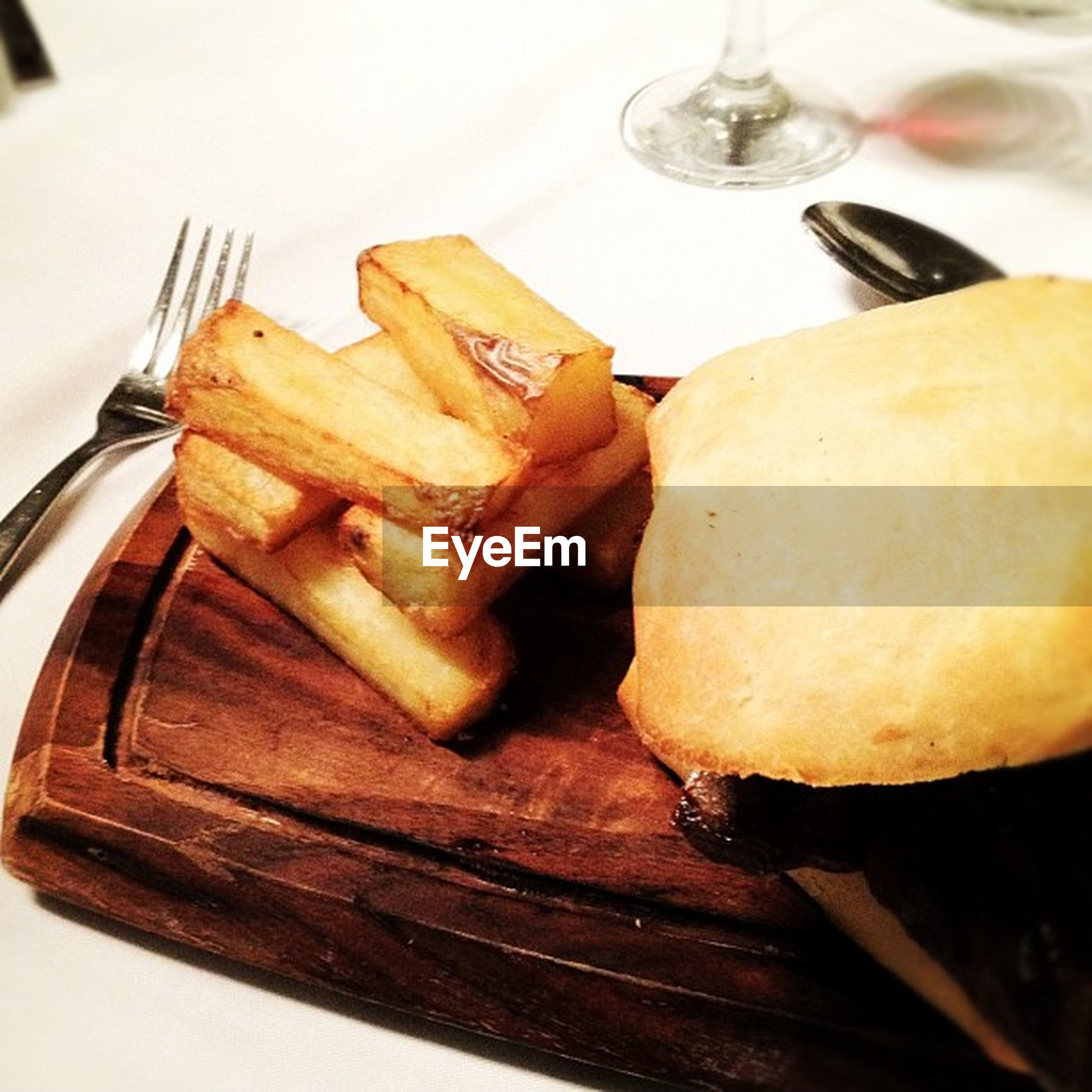 food and drink, food, freshness, indoors, still life, ready-to-eat, plate, table, close-up, indulgence, fork, unhealthy eating, serving size, bread, meal, slice, sweet food, high angle view, meat