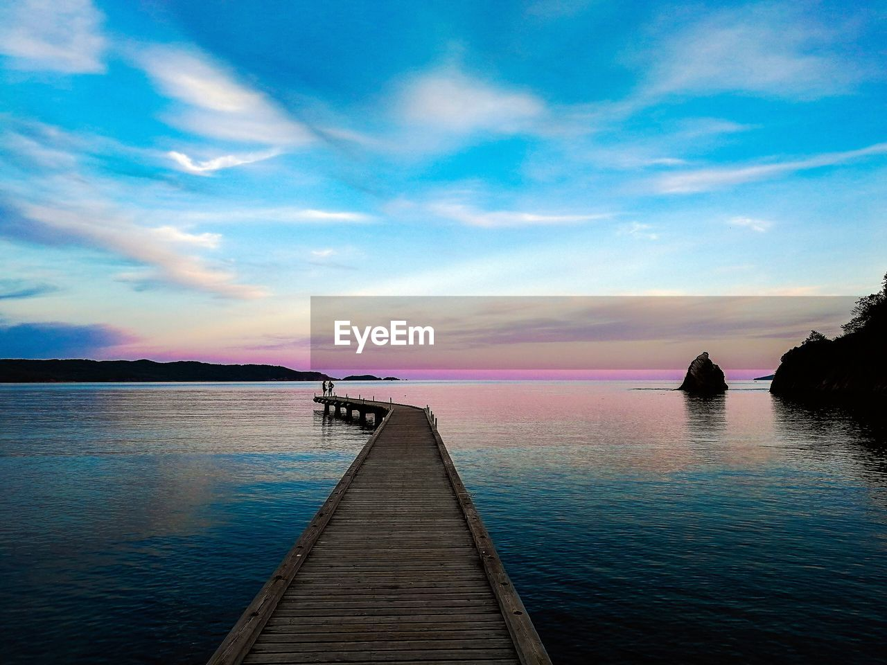 water, sky, sunset, beauty in nature, scenics - nature, pier, tranquility, tranquil scene, cloud - sky, wood - material, direction, the way forward, sea, jetty, nature, non-urban scene, idyllic, horizon, horizon over water, outdoors, diminishing perspective, no people, wood paneling, long