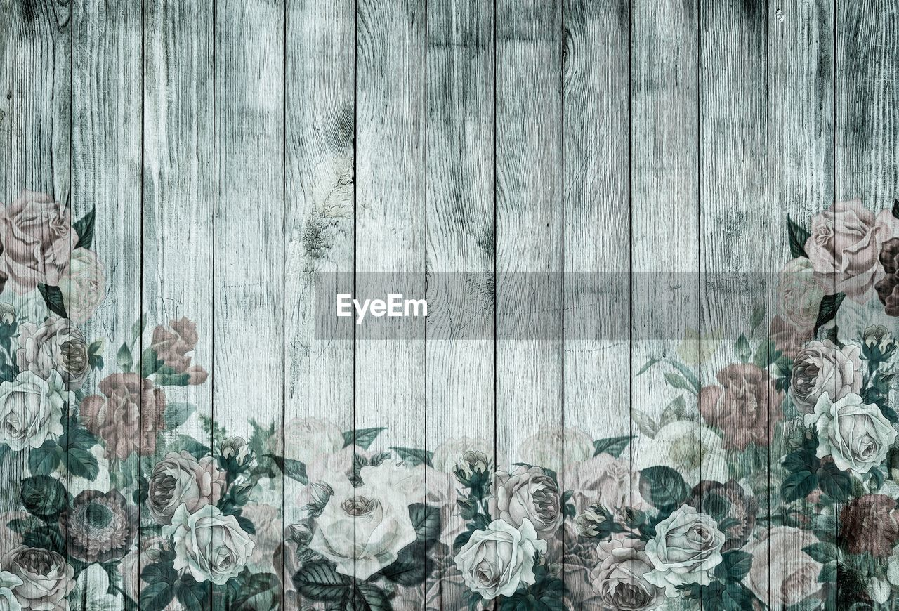 wood - material, no people, flower, nature, outdoors, close-up, day