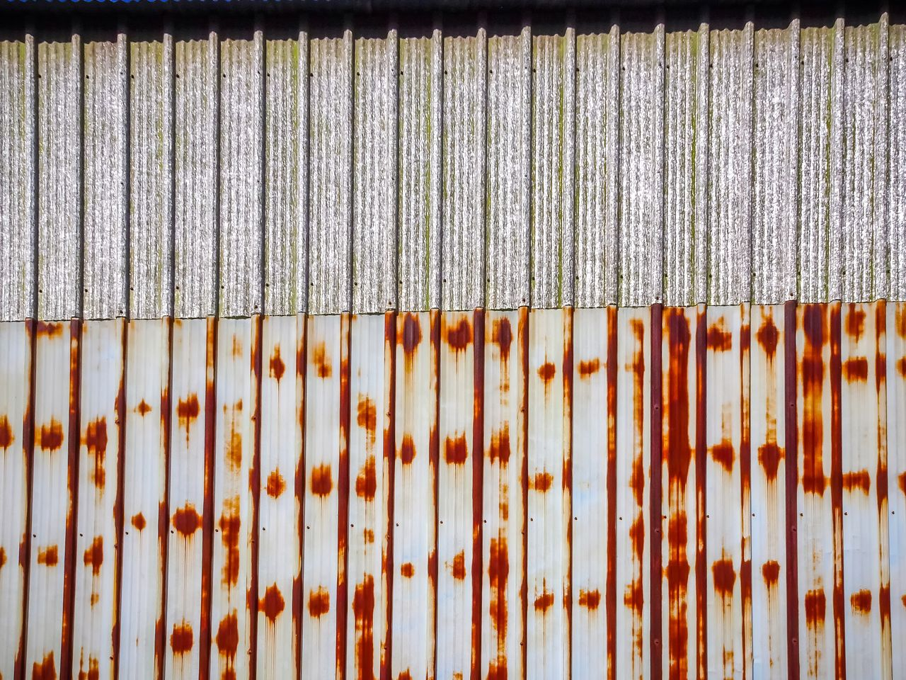 corrugated iron, full frame, backgrounds, metal, textured, pattern, day, close-up, outdoors, no people, rusty