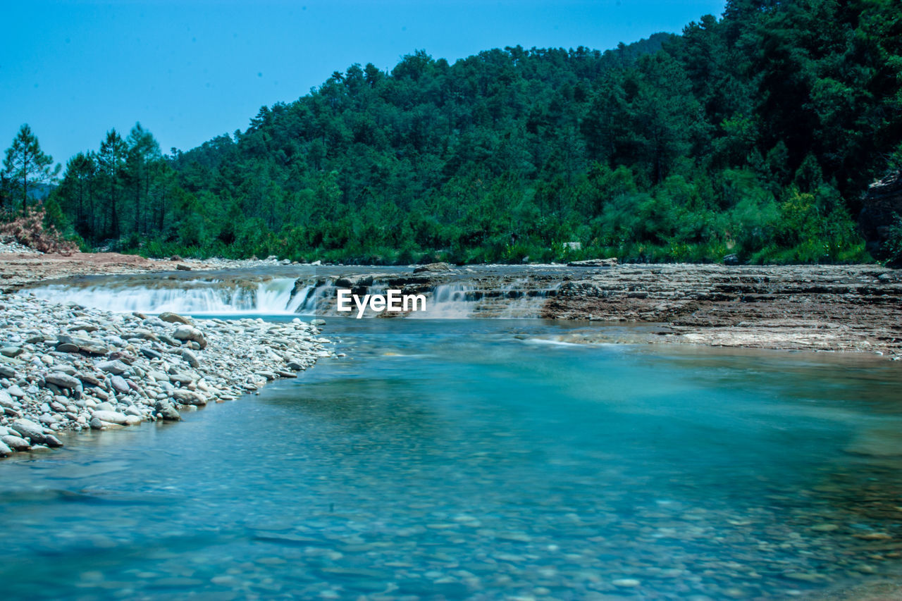Scenic View River Against Sky