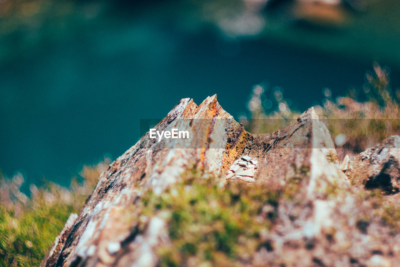 day, rock - object, nature, outdoors, no people, beauty in nature, tilt-shift, close-up, sky