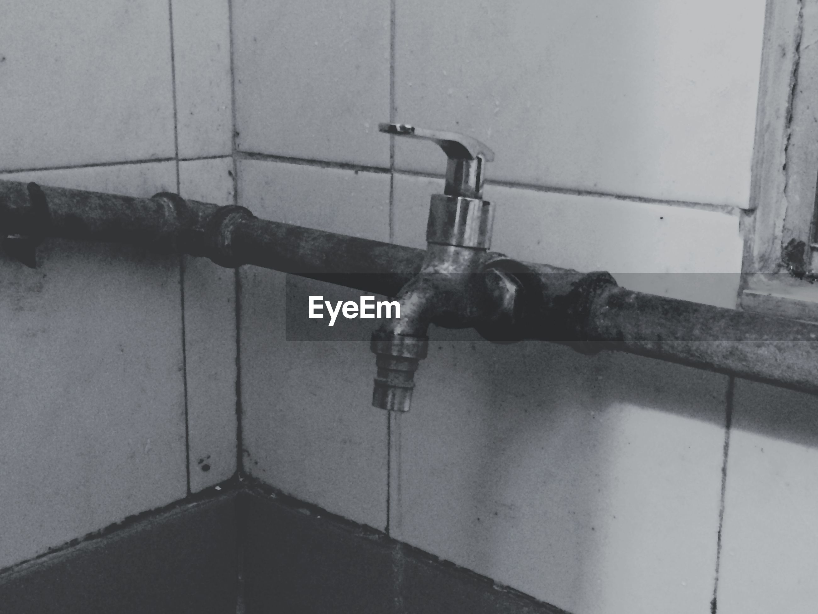metal, wall - building feature, indoors, old, metallic, protection, close-up, safety, built structure, security, rusty, pipe - tube, architecture, door, wall, connection, handle, faucet, no people, lock