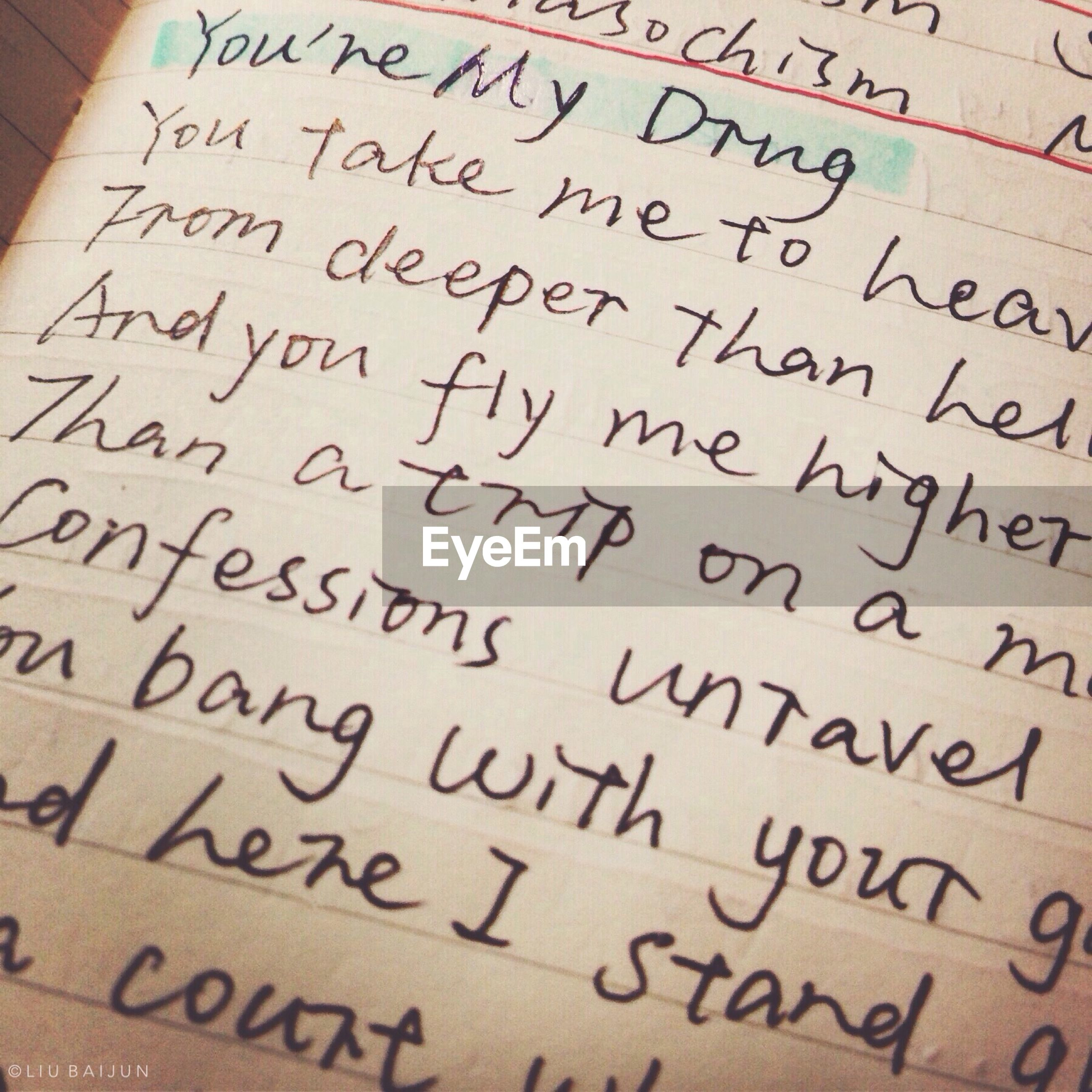 text, western script, communication, indoors, non-western script, close-up, full frame, paper, information, high angle view, number, no people, message, book, backgrounds, capital letter, selective focus, education, handwriting, day