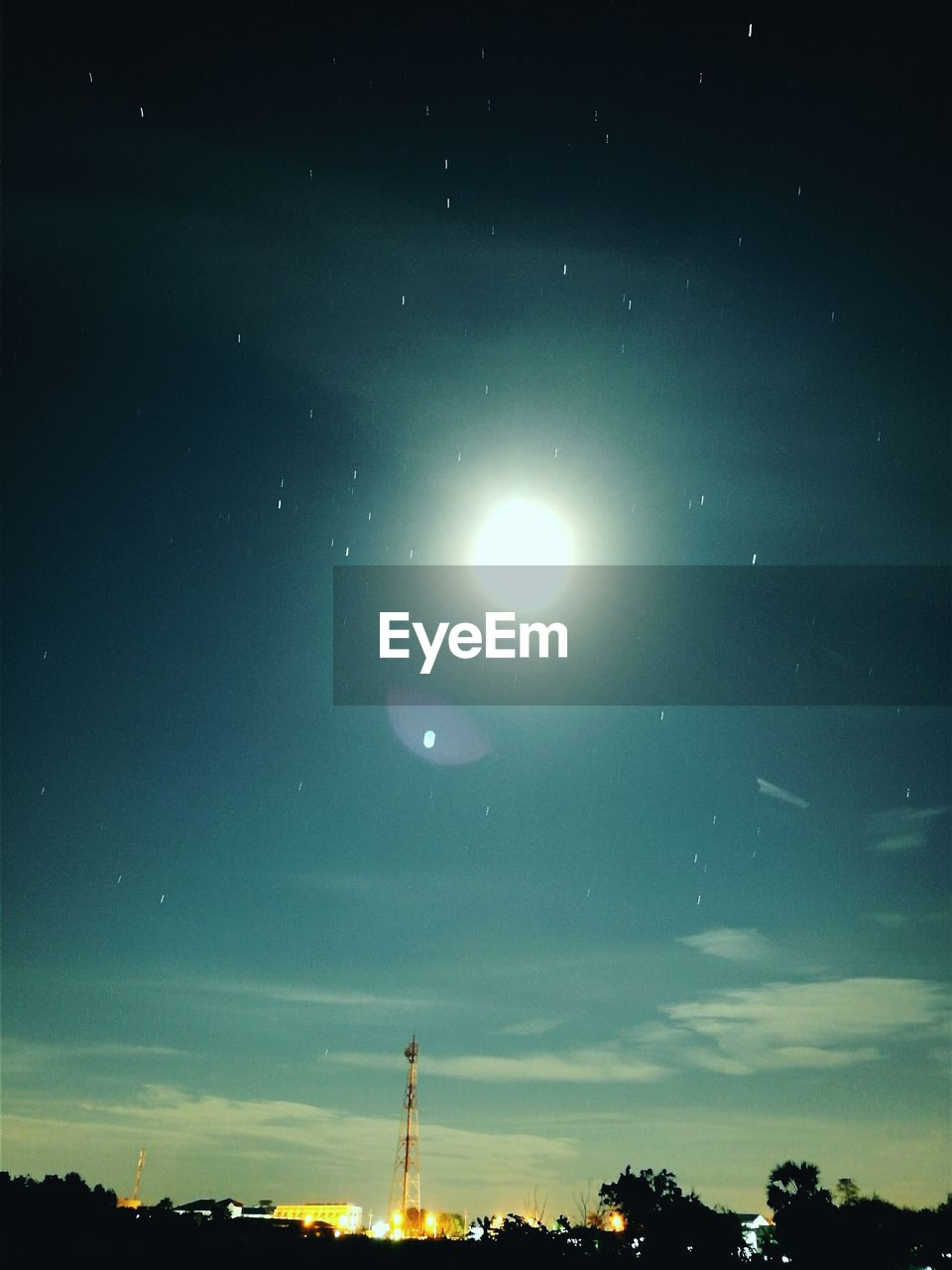 sky, sun, moon, beauty in nature, no people, nature, astronomy, scenics, outdoors, low angle view, silhouette, star - space, space, tree