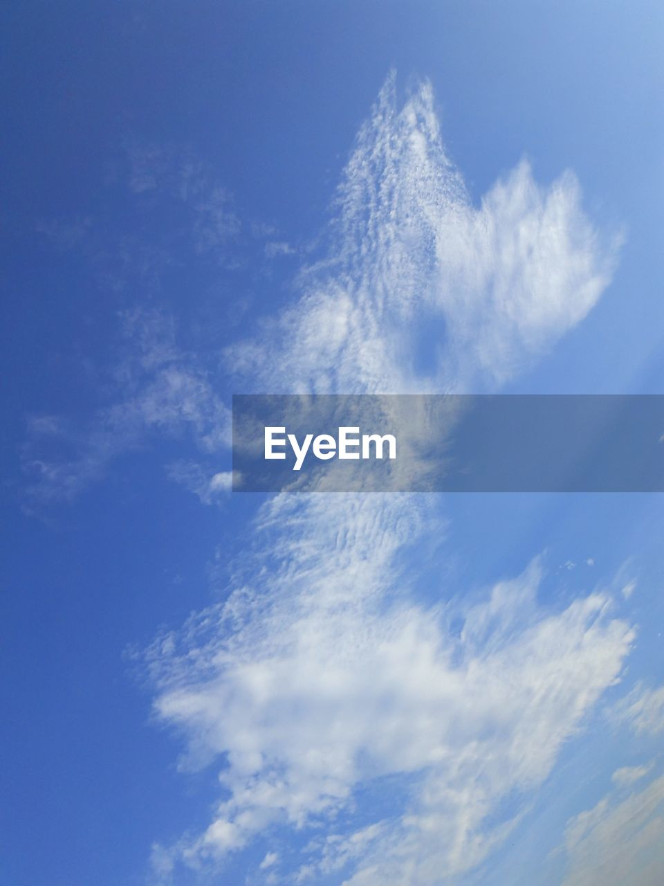 low angle view, sky, beauty in nature, blue, nature, cloud - sky, sky only, scenics, tranquility, no people, tranquil scene, day, outdoors, backgrounds