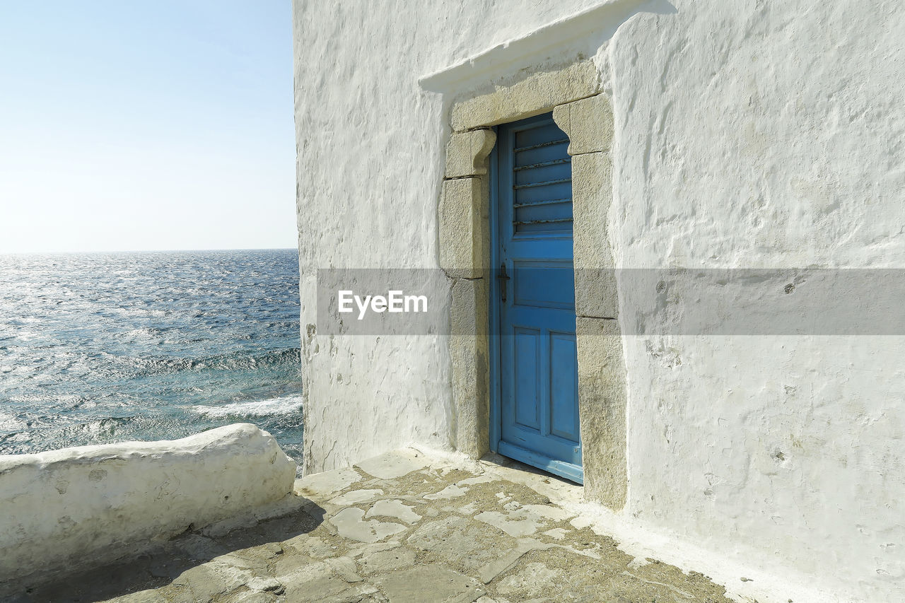 architecture, sea, no people, outdoors, day