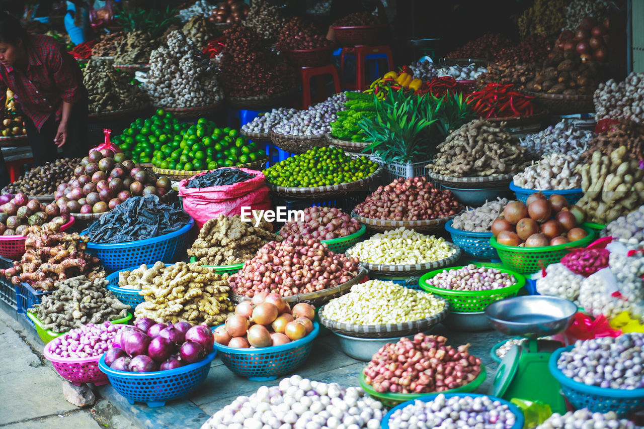variation, food and drink, choice, abundance, food, for sale, healthy eating, large group of objects, retail, market, freshness, market stall, outdoors, day, collection, no people, dried food, nut - food, arrangement, multi colored, legume family, dried fruit, fruit, close-up