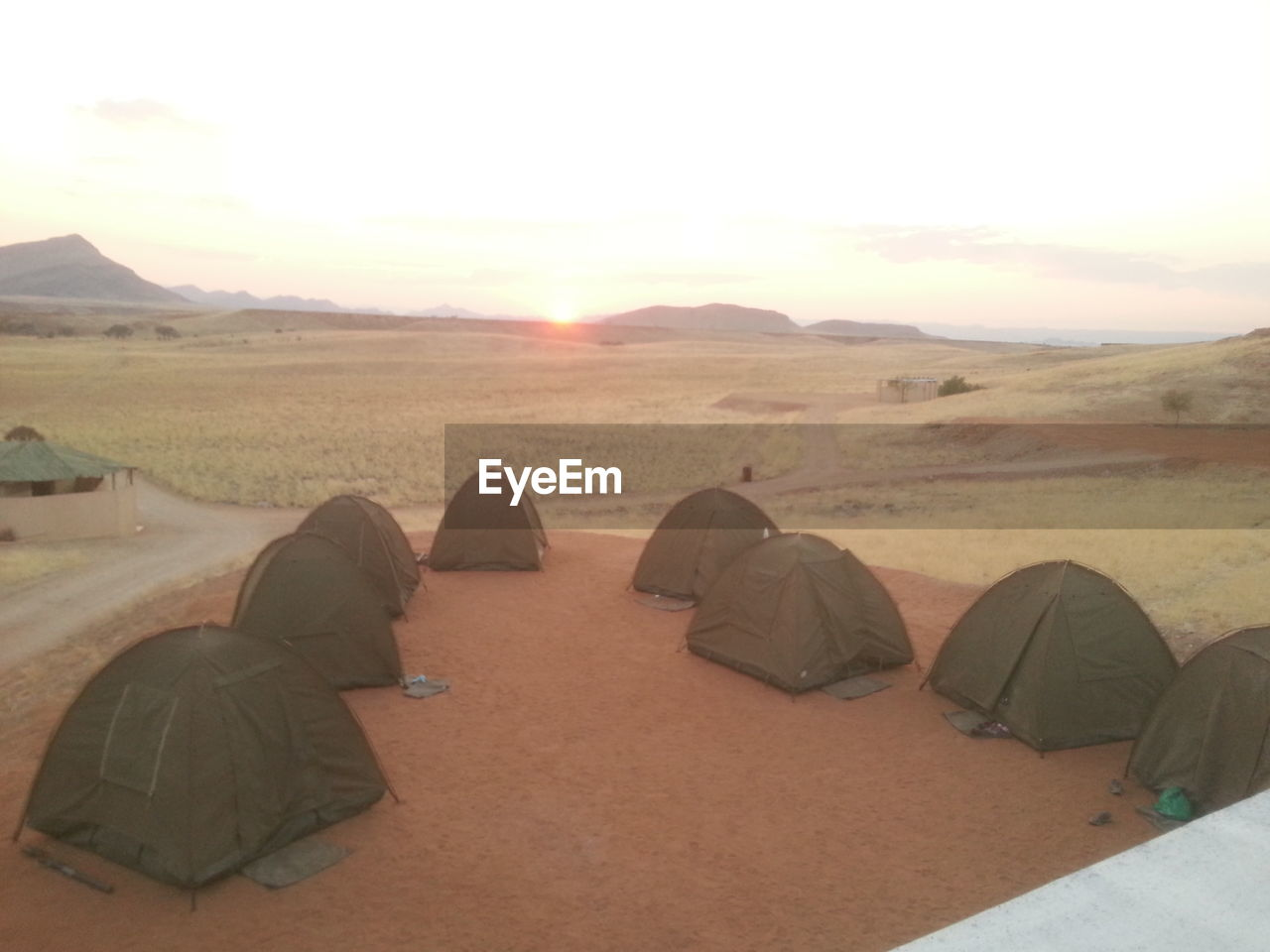 tent, camping, nature, landscape, adventure, outdoors, real people, beauty in nature, shelter, day, men, sky, people