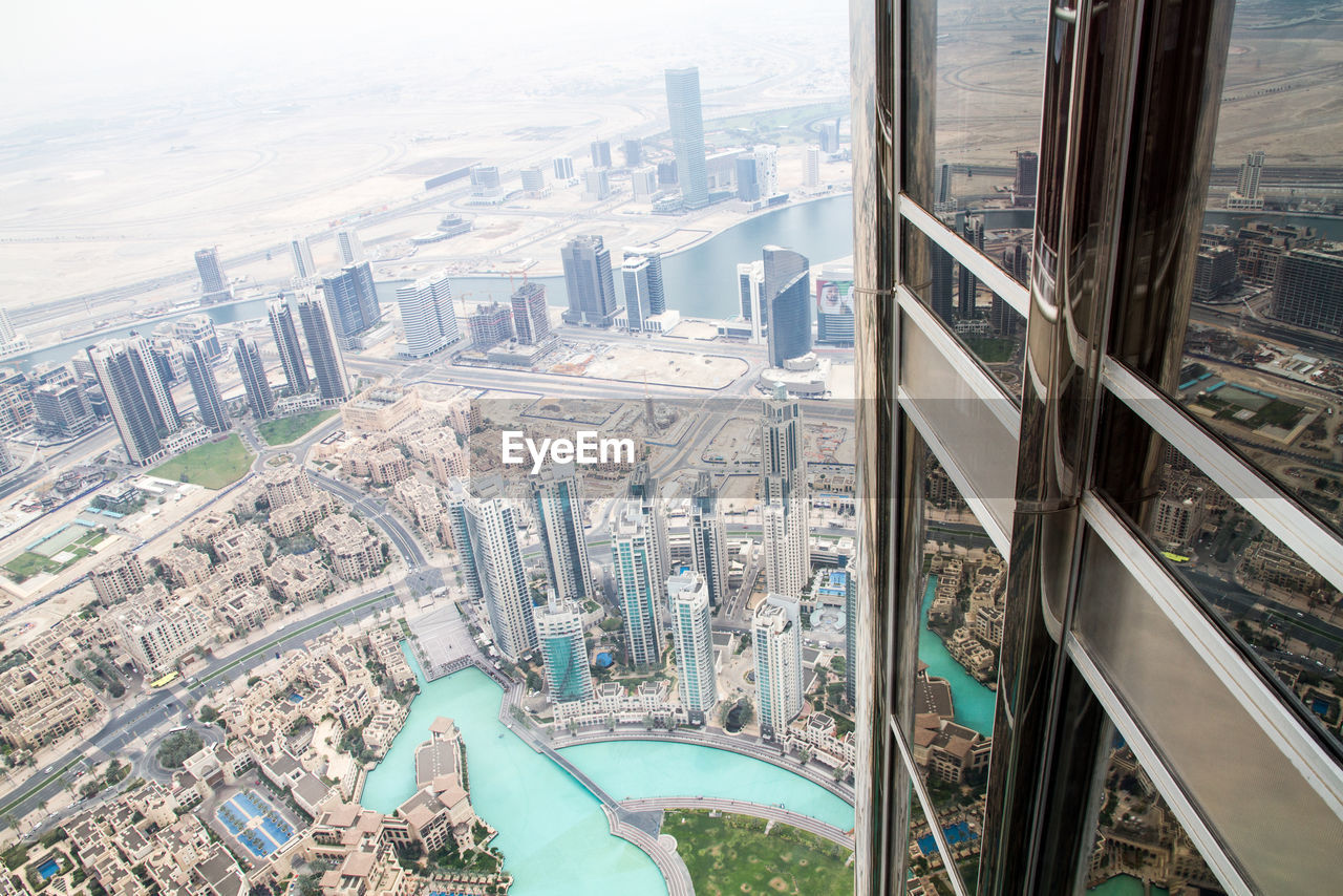 Cityscape View From Burj Khalifa