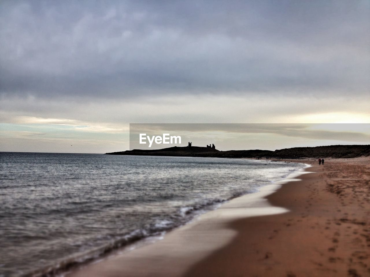 beach, land, sea, sky, cloud - sky, water, beauty in nature, sand, scenics - nature, sunset, nature, tranquil scene, tranquility, no people, motion, outdoors, dusk, direction