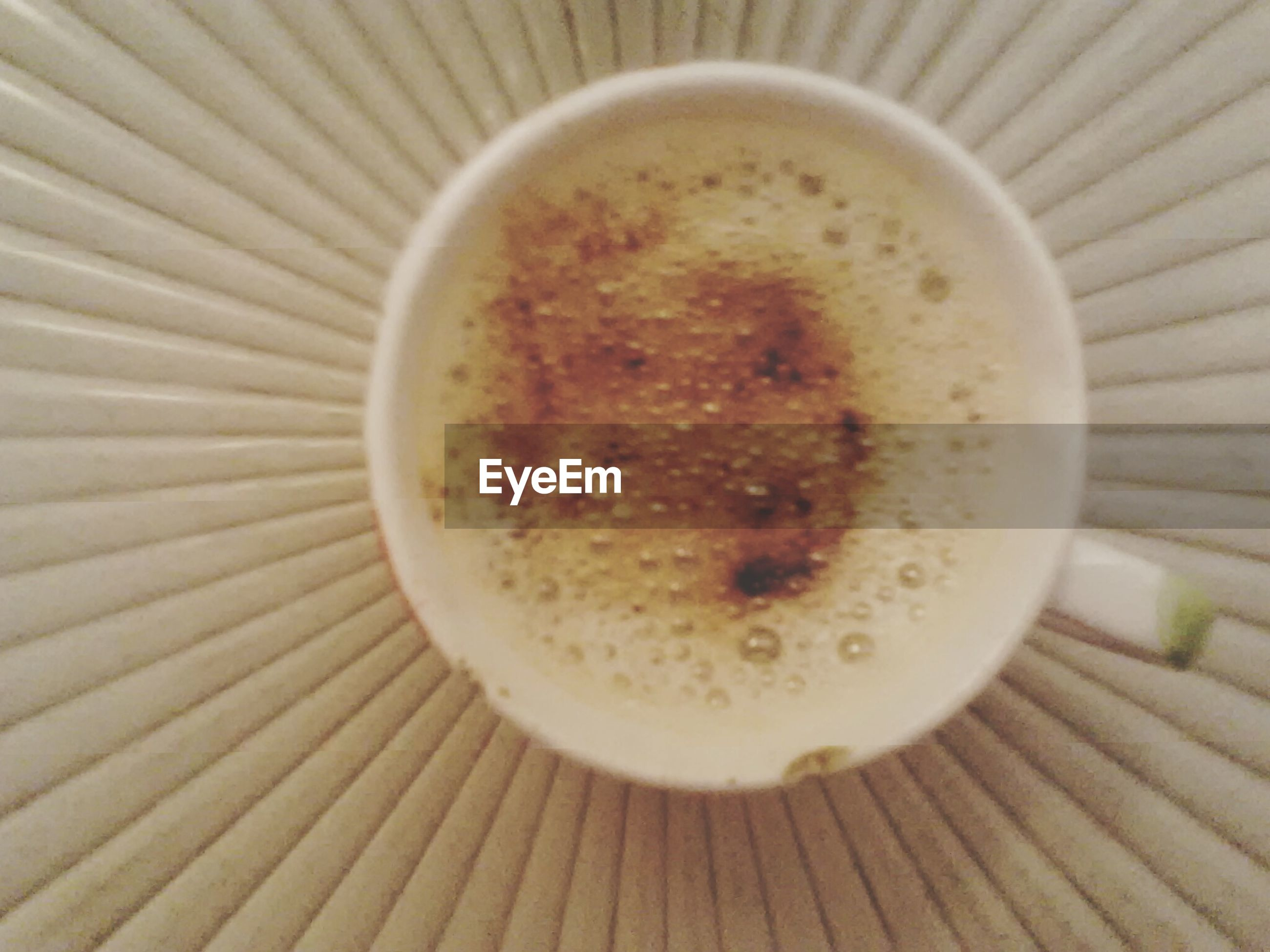 food and drink, drink, refreshment, coffee cup, indoors, coffee - drink, table, freshness, frothy drink, close-up, coffee, still life, cappuccino, saucer, high angle view, wood - material, directly above, cup, no people, healthy eating