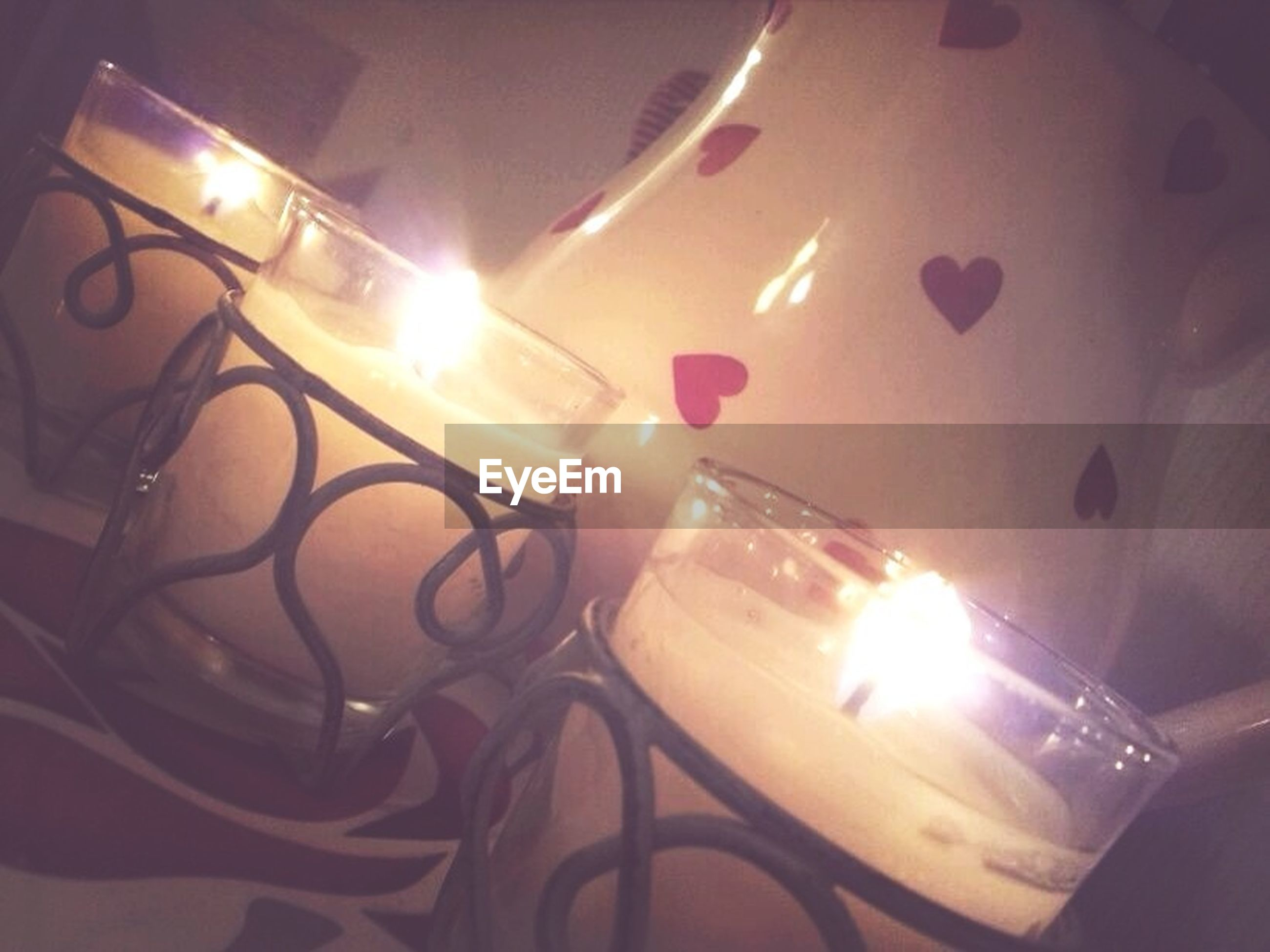 illuminated, lighting equipment, night, indoors, glowing, decoration, burning, lit, flame, light - natural phenomenon, electricity, candle, no people, fire - natural phenomenon, close-up, electric light, lens flare, high angle view, lantern, multi colored