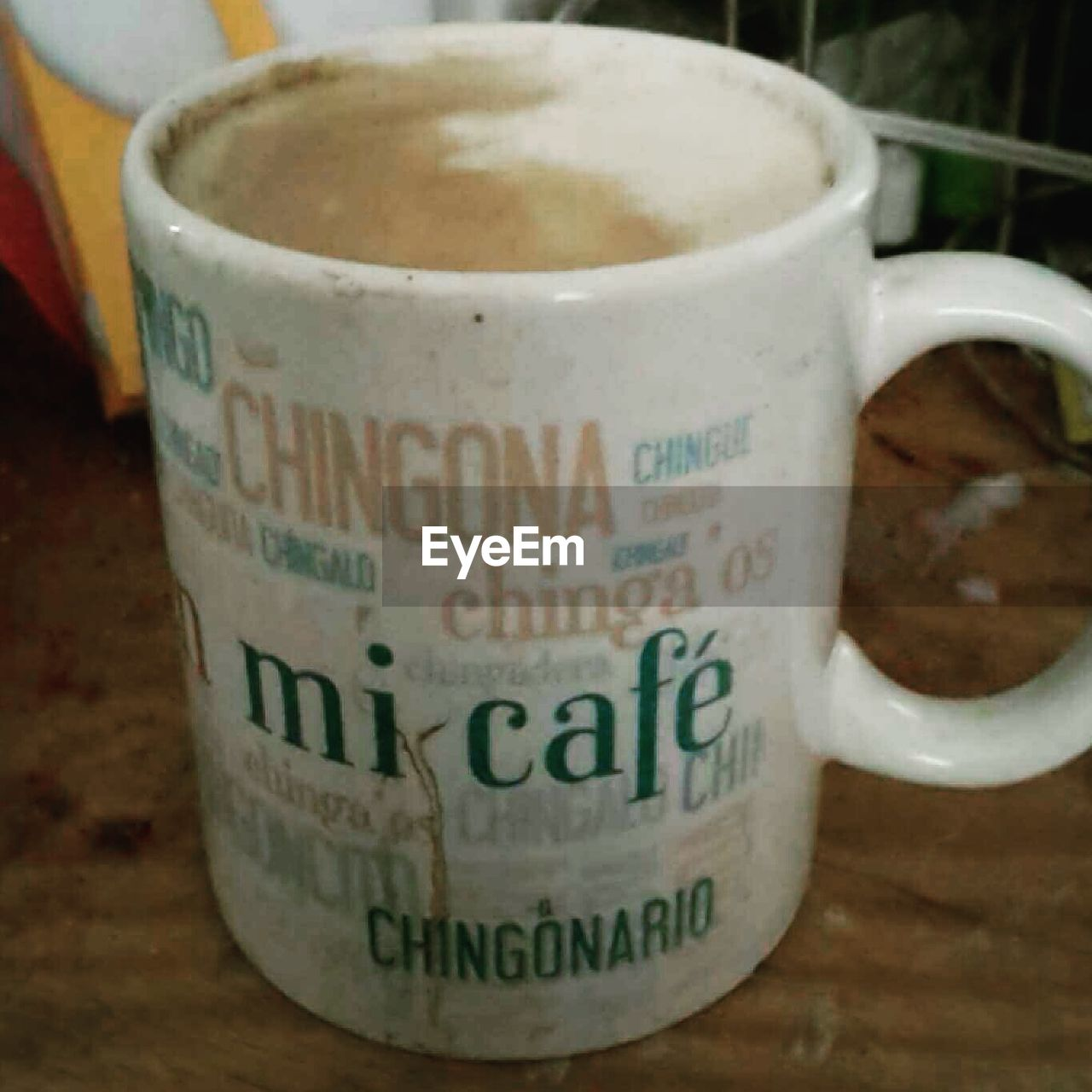 coffee - drink, coffee cup, drink, food and drink, refreshment, cup, mug, text, cappuccino, table, frothy drink, latte, close-up, no people, indoors, freshness, saucer, hot chocolate, heat - temperature, mocha, day, froth art