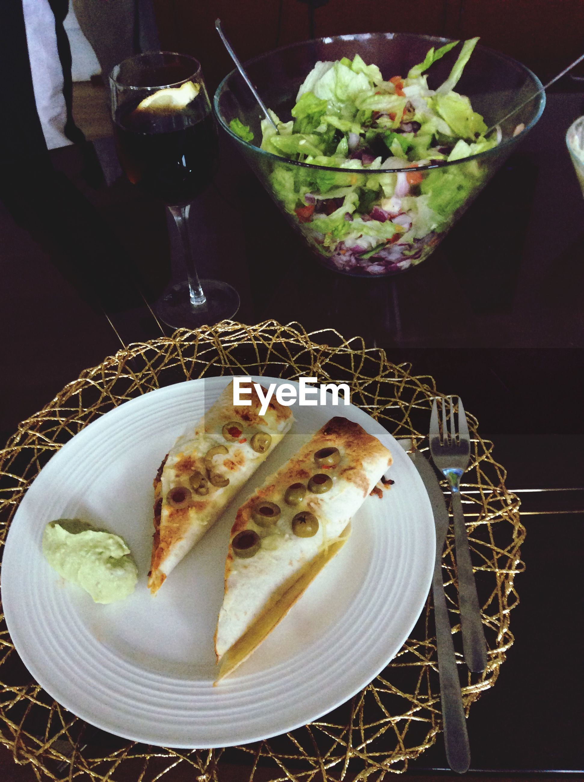 food and drink, food, indoors, freshness, ready-to-eat, plate, table, still life, healthy eating, serving size, high angle view, indulgence, meal, close-up, served, bowl, meat, fork, no people, temptation