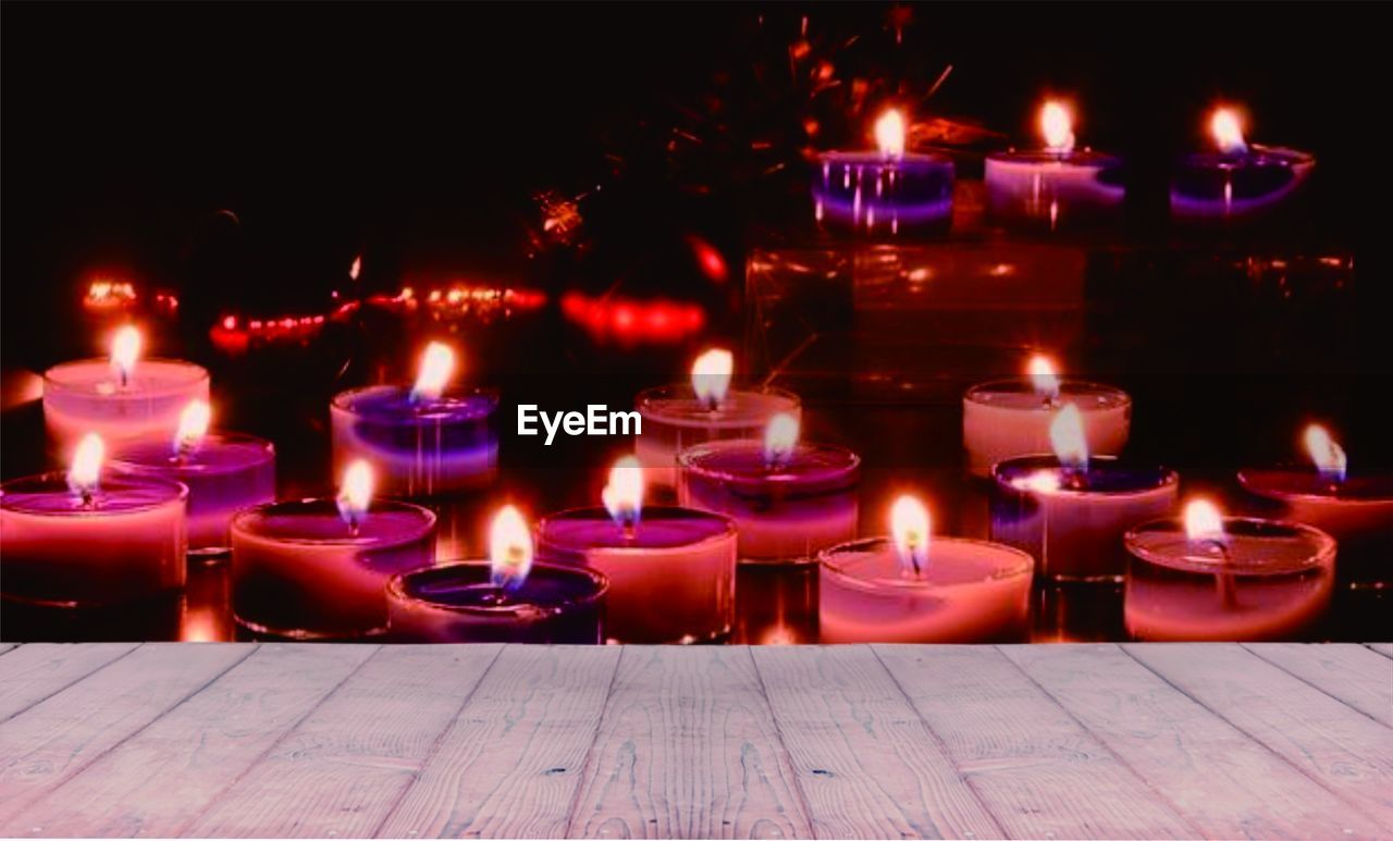 Backgrounds Burning Candle Dark Fire Fire - Natural Phenomenon In A Row Night Religion