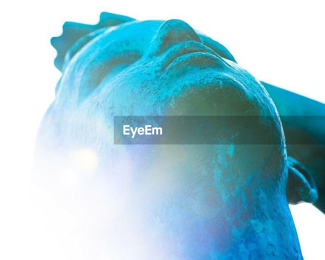 Close-up of statue at gustav vigeland sculpture park
