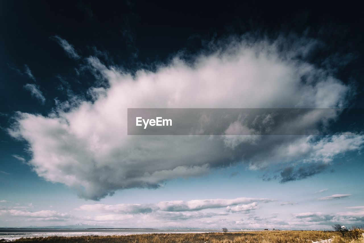 cloud - sky, sky, beauty in nature, scenics - nature, tranquility, tranquil scene, nature, no people, environment, non-urban scene, outdoors, land, landscape, sea, day, remote, idyllic, storm, horizon, ominous