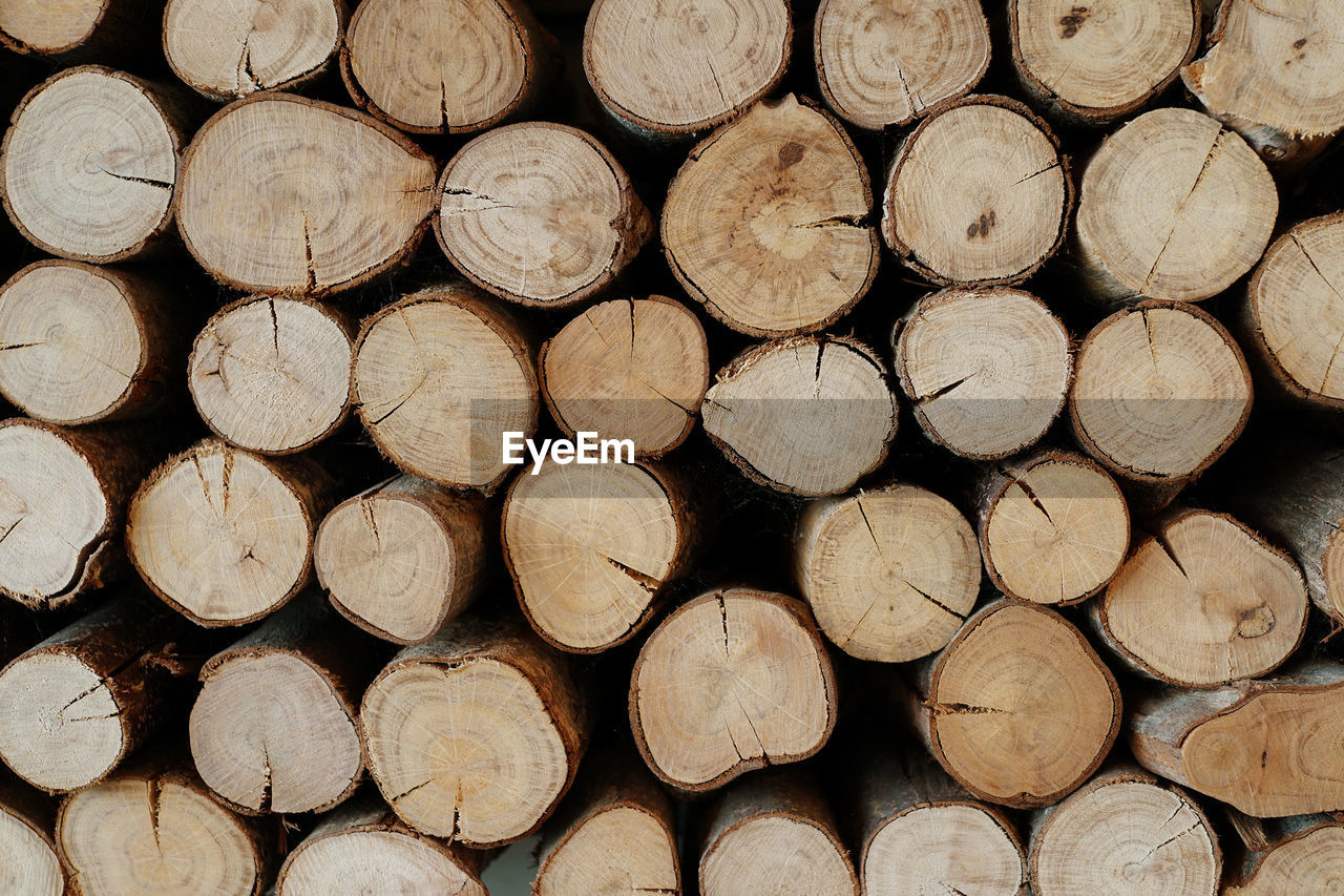 full frame, wood - material, firewood, log, wood, backgrounds, lumber industry, stack, timber, tree, large group of objects, forest, abundance, deforestation, no people, repetition, pattern, shape, fuel and power generation, arrangement, woodpile, outdoors, order, chopped