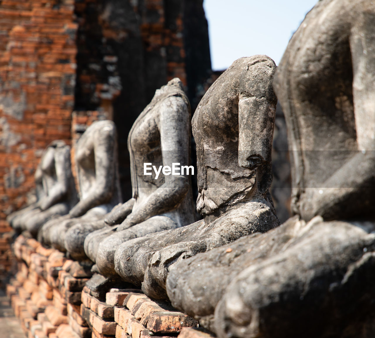 sculpture, statue, art and craft, representation, human representation, craft, creativity, male likeness, architecture, religion, no people, built structure, spirituality, belief, history, the past, solid, day, place of worship, travel destinations, stone material, outdoors, ancient civilization