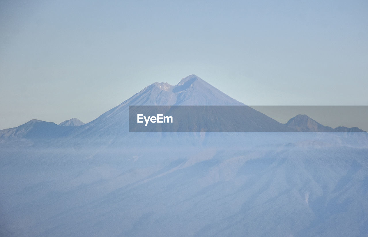 mountain, scenics - nature, beauty in nature, sky, tranquil scene, volcano, tranquility, landscape, non-urban scene, no people, environment, mountain peak, nature, majestic, winter, snowcapped mountain, cold temperature, idyllic, day, land, mountain range, outdoors, volcanic crater, arid climate